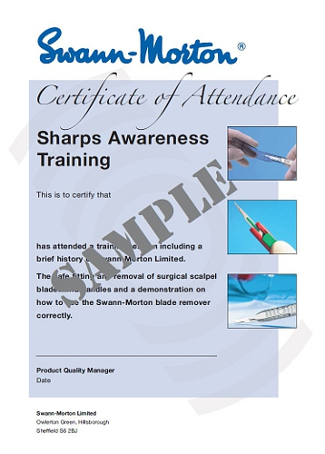 Sharps Safety Awareness Training by Swann-Morton